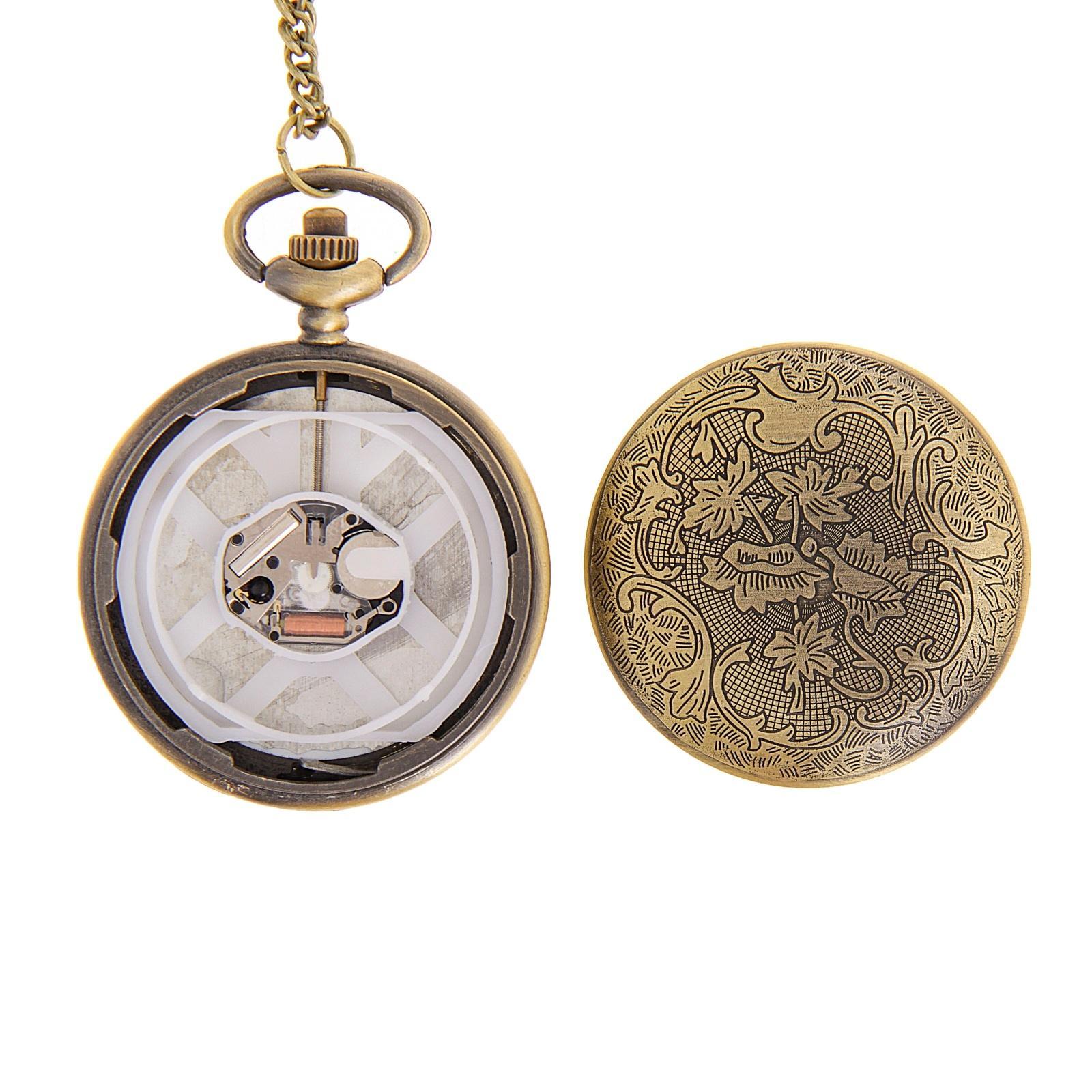 купить часы на цепочке с крышкой