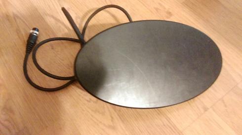Катушка 10'' h dd 18,75 кгц, minelab (x-terra). эллипс. - фо.